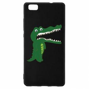 Etui na Huawei P 8 Lite Toothy crocodile