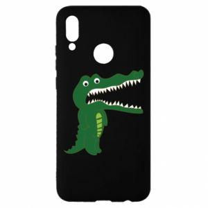 Etui na Huawei P Smart 2019 Toothy crocodile