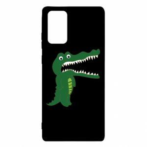 Etui na Samsung Note 20 Toothy crocodile
