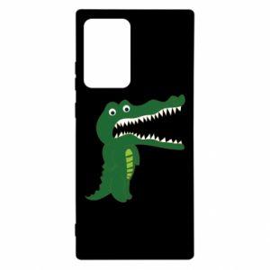 Etui na Samsung Note 20 Ultra Toothy crocodile