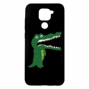 Etui na Xiaomi Redmi Note 9/Redmi 10X Toothy crocodile