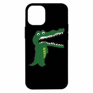 Etui na iPhone 12 Mini Toothy crocodile