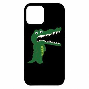 Etui na iPhone 12 Pro Max Toothy crocodile