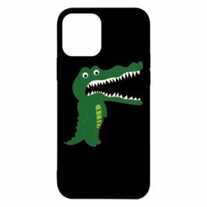 Etui na iPhone 12/12 Pro Toothy crocodile