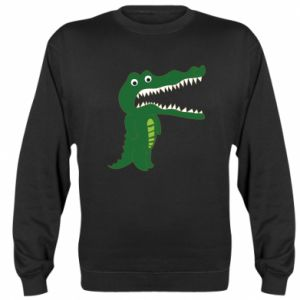 Sweatshirt Toothy crocodile