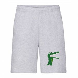Men's shorts Toothy crocodile - PrintSalon