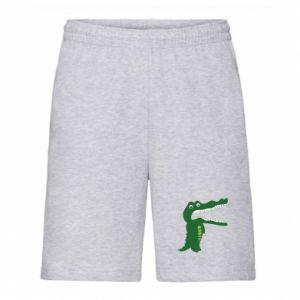 Męskie szorty Toothy crocodile