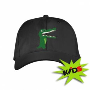 Dziecięca czapeczka z daszkiem Toothy crocodile