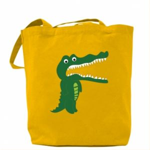 Bag Toothy crocodile - PrintSalon