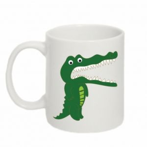 Mug 330ml Toothy crocodile - PrintSalon