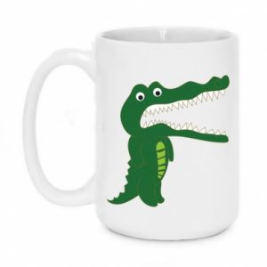 Mug 450ml Toothy crocodile - PrintSalon