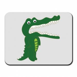 Mouse pad Toothy crocodile