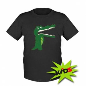 Kids T-shirt Toothy crocodile - PrintSalon