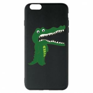 Phone case for iPhone 6 Plus/6S Plus Toothy crocodile - PrintSalon