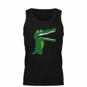 Men's t-shirt Toothy crocodile