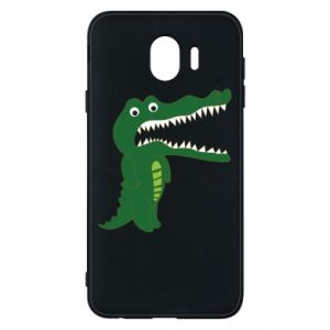 Phone case for Samsung J4 Toothy crocodile - PrintSalon