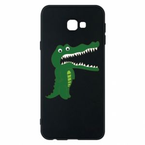 Phone case for Samsung J4 Plus 2018 Toothy crocodile - PrintSalon
