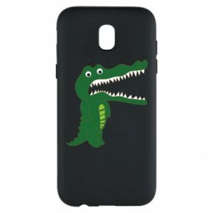 Phone case for Samsung J5 2017 Toothy crocodile - PrintSalon