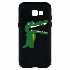 Phone case for Samsung A5 2017 Toothy crocodile - PrintSalon