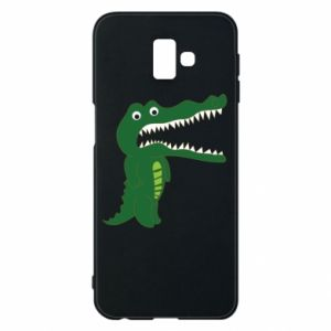 Phone case for Samsung J6 Plus 2018 Toothy crocodile - PrintSalon