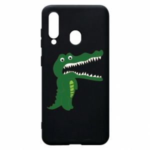 Phone case for Samsung A60 Toothy crocodile - PrintSalon