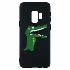 Phone case for Samsung S9 Toothy crocodile - PrintSalon