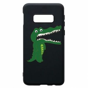 Phone case for Samsung S10e Toothy crocodile - PrintSalon