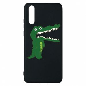 Phone case for Huawei P20 Toothy crocodile - PrintSalon