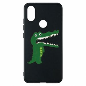 Phone case for Xiaomi Mi A2 Toothy crocodile - PrintSalon
