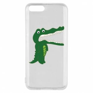 Phone case for Xiaomi Mi6 Toothy crocodile - PrintSalon