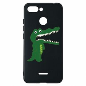 Phone case for Xiaomi Redmi 6 Toothy crocodile - PrintSalon