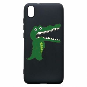 Phone case for Xiaomi Redmi 7A Toothy crocodile - PrintSalon