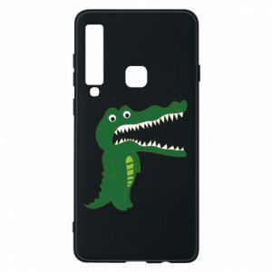 Phone case for Samsung A9 2018 Toothy crocodile - PrintSalon