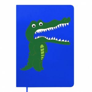 Notepad Toothy crocodile - PrintSalon