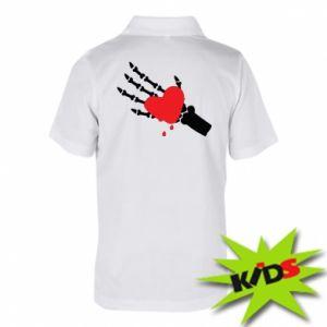 Koszulka polo dziecięca Topniejące serce