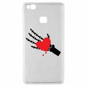 Etui na Huawei P9 Lite Topniejące serce