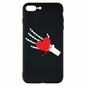 Etui na iPhone 8 Plus Topniejące serce
