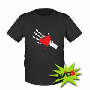 Dziecięcy T-shirt Topniejące serce