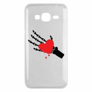 Etui na Samsung J3 2016 Topniejące serce