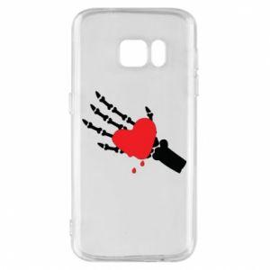 Etui na Samsung S7 Topniejące serce