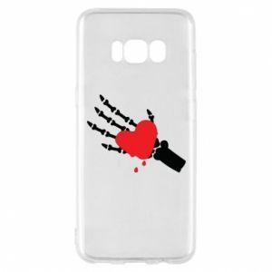 Etui na Samsung S8 Topniejące serce