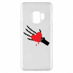 Etui na Samsung S9 Topniejące serce