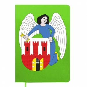 Notepad Torun coat of arms