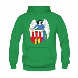 Kid's hoodie Torun coat of arms