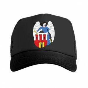 Trucker hat Torun coat of arms