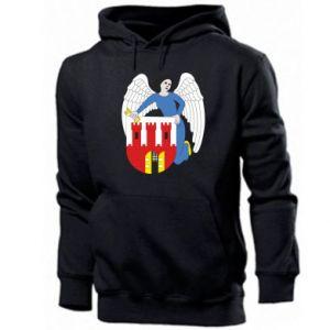 Men's hoodie Torun coat of arms