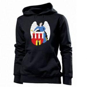Women's hoodies Torun coat of arms