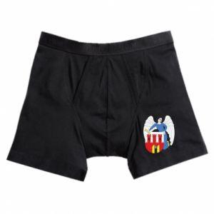 Boxer trunks Torun coat of arms