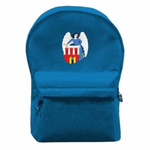Backpack with front pocket Torun coat of arms