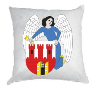 Pillow Torun coat of arms